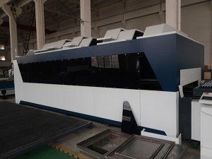Prezzo della tagliatrice del laser della fibra della lamiera sottile di cnc del metallo del ferro del acciaio al carbonio dell'acciaio inossidabile 1000w da vendere