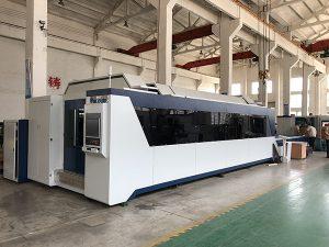 Macchina da taglio laser in fibra da 1500mmx3000mm con vendita calda e buon prezzo con sorgente laser da 500W, 700W, 1000W