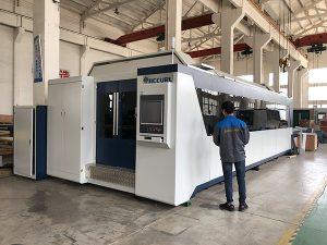 500W 700W 1kw, 2kw, 3kw, prezzo della macchina per taglio laser a fibra ottica CNC in lamiera con Trumpf, IPG