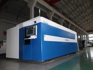 Tagliatrice del laser della fibra di CNC 500w 700w 1000w 2000w 3000w acciaio dolce / inossidabile / al carbonio
