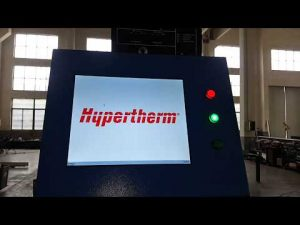 Macchina per taglio al plasma CNC e macchina da taglio a fiamma OXY con plasma Hypertherm HyPerformance HPR400XD
