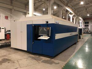 Macchina da taglio laser a fibra CNC ad alta potenza per lavori di taglio laser in officina di taglio laser in acciaio inossidabile