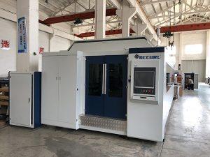 Tagliatrice laser a fibra di grande potenza 1000W ~ 4000W per un taglio regolare della lamiera