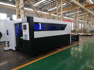 Tagliatrice di alluminio d'ottone del ferro di rame dell'acciaio del laser della fibra di precisione superiore con il prezzo competitivo
