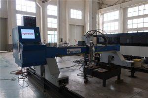 controllo cnc su misura dell'attrezzatura per il taglio della fiamma della taglierina del plasma dell'acciaio inossidabile / del ferro