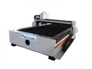 macchina della taglierina del plasma di CNC del taglio della fiamma del metallo del router di CNC della porcellana per la vendita calda