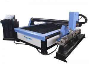 macchina da taglio per lamiera al plasma, taglierina al plasma cnc a tubo d'aria rettangolare in vendita
