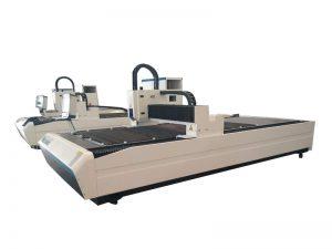 tagliatrice del piatto d'acciaio del laser della fibra della lamiera di acciaio dolce di CNC